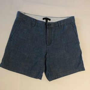 Banana Republic women's linen chambray shorts